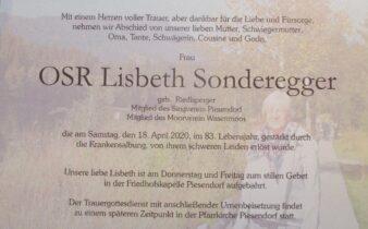 Lisbeth Sonderegger